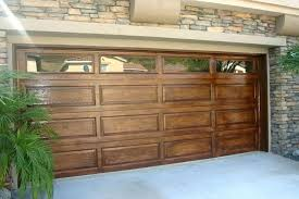 wooden garage door custom wood doors at omega melbourne ocala florida replacement seal