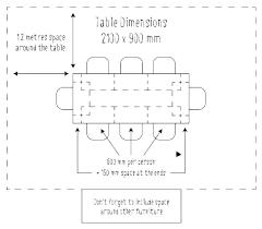 Dining Room Table Sizes Guide Johrakardega