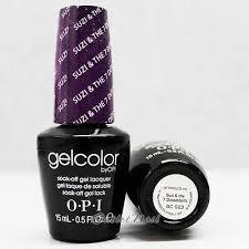 Opi Purple Color Chart Opi Gelcolor Gc G23 Suzi The 7 Dusseldorfs 15ml Uv Led Gel Polish Purple Color Ebay