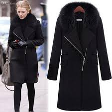 2018 whole 2016 european blake lively fashion winter coats for women long section plus size woolen fur collar poncho coat from keviny 71 73 dhgate
