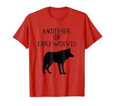 Cute T Shirt Design Ideas Cute Unique Black Mother Of Direwolves T Shirt E010391