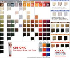 Colors In 2019 Hair Color Swatches Chi Hair Color Hair Color