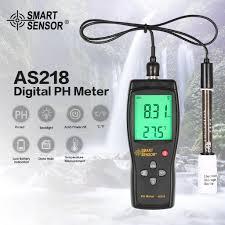 TH <b>Smart Sensor AS218 Digital</b> PH Meter Range 0.00-14.00pH ...