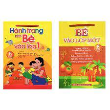 Combo sách chuẩn bị cho bé vào lớp 1: Hành trang cho bé vào lớp 1 và bé vào  lớp một + tặng thẻ flashcard   MHbooks