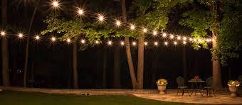 how to hang patio lights popular outdoor lighting ideas