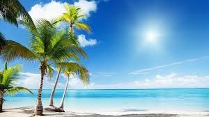 hd beach widescreen backgrounds. Delighful Widescreen Tropical Beach Paradise HD Desktop Wallpapers  Widescreen High   Background On Hd Backgrounds D