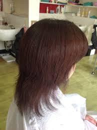 段カットになって毛先は梳きすぎて キレイな髪髪が綺麗になる