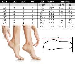 Shoes Size Chart Alberto Venturini Official Online Shop