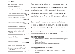 Standard Cv Form Image Collections Form Example Ideas