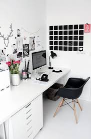 love home office space. Feminine Black And White Home Office Mood Board Idea Love Space R