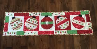 Christmas Table Runner - pulliamdeffenbaugh.com & ... Merry Bright Christmas Table Runner Kit For Christmas Table Runner ... Adamdwight.com