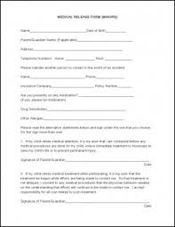 Sample Medical Records Release Form Medical Record Release Form Sample Templates Free Printable