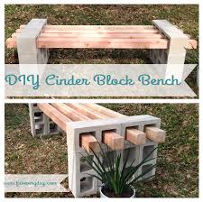 cinderblock furniture. To Follow Up On Last Week\u0027s Post Our DIY Cinder Block Raised Garden Bed, I Wanted Share Pics And Instructions For Coordinating Cinderblock Furniture