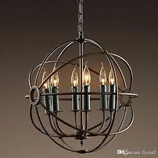 restoration hardware chandelier lighting restoration hardware vintage pendant lamp iron orb chandelier rustic iron loft light