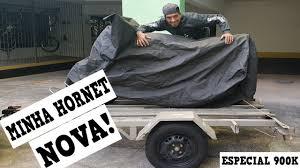 FABINHO DA HORNET MOSTRANDO COM DETALHES A MINHA HORNET NOVA.
