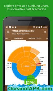 Disk Usage Chart Storage Analyzer Disk Usage V4 1 0 9 Pro Apk Free