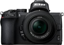 <b>Nikon Z50</b> Mirrorless 4K Video Camera with <b>NIKKOR</b> Z <b>DX</b> 16 ...