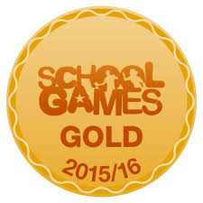 Image result for school games gold logo
