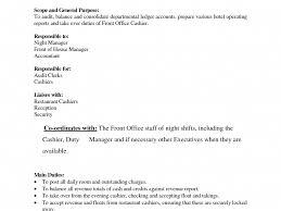 Night Auditor Job Description Resume Cosy Night Auditor Job Resume Best Template Collection Resume Job 86