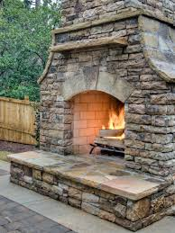 Of Outdoor Fireplaces Outdoor Fireplace Pictures Ideas Videos Hgtv