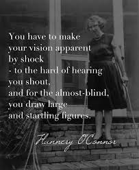 best flannery o connor images author catholic  flannery o connor in reference to her rather graphic imagery and characters