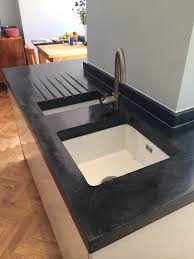 custom kitchen portfolio by concrete wave design