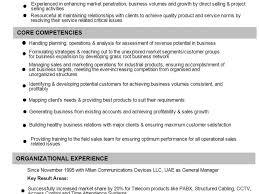 Classy Design Business Resume Format 13 Business Development