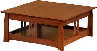 Coffee Table Mission Style Design Ideas Oak End