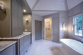 grey bathroom cabinets