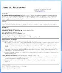 Mechanical Engineering Resume Templates Print Mechanical Engineering Resume Format For Experienced 29