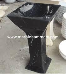 Marble pedestal sink Green Marble Cncredrlouclub Black Marble Pedestal Sink
