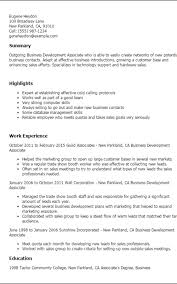 Business Resume Template Cool Business Resume Template Formatted Templates Example