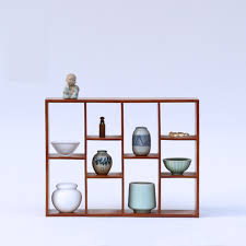 Tea Set Display Stand For Sale Mesmerizing USD 3232] Japanesestyle Bamboo Lattice Frame Tea Set Rack Teapot