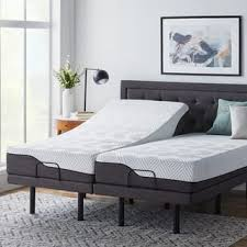 adjustable bed sheets king. Delighful King LUCID Comfort Collection 10inch Split King Size Memory Foam Hybrid  Mattress With L300 Adjustable And Bed Sheets
