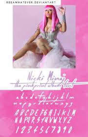 the pinkprint album cover. Wonderful The Nicki Minaj The Pinkprint Album Font By Reeawhatever  Intended Cover N