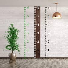 Diy Growth Chart Stencil 6 Feet Height Growth Chart Stencil Kids Reusable Ruler Template Painting On Wood Diy French Country Home Decor Rustic Decor For Farmhouse Measuring