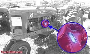 tractordata com farmall super m tractor information photo of super m serial number
