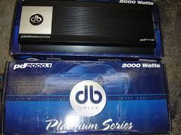 for db drive pd amplifier binb