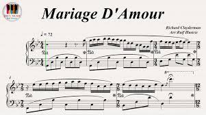Mariage D Amour Paul De Senneville Richard Clayderman Piano