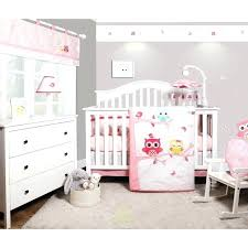 baby nursery bedding sets baby nursery bedding enchanted owls family baby girl nursery 6 piece crib baby nursery bedding