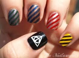 Elegant Nail Art Harry Potter Facile Best Nail Art
