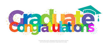 congratulations to graduate