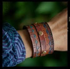 leather bracelets diy