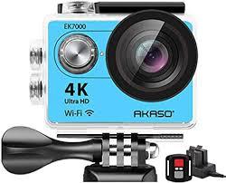 AKASO 4K Wi-Fi Sports Action Camera Ultra HD ... - Amazon.com