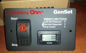 onan switch onan 12 volt remote start switch digital hour meter