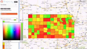 heatmap in excel heat map market share by us counties youtube