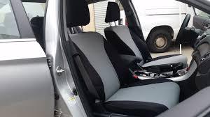 neoprene grey insert honda accord front seat cover seat covers custom