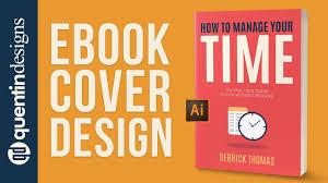 ebook cover design time management ilrator tutorial