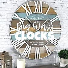 beach inspired big wall clocks huge hobby lobby style