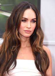 this warm hued ombre eye moment looks divine on the beauteous megan fox n est ce pas people makeup artist monika blunder did the makeup honors for megan